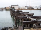Post Creek Bridge in West Wildwood as of March 2006. Photo by Thomas Duke.