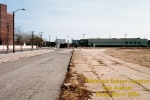 Wildwood Station location on Oak Ave as of 2004. Photo by Thomas Duke.