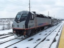 New Jersey Transit 4011 at Cherry Hill, NJ on Feb 27, 2010