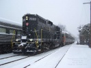 PRR 7000 at Tuckahoe, NJ on Jan 31, 2010. Photo by Thomas Duke.