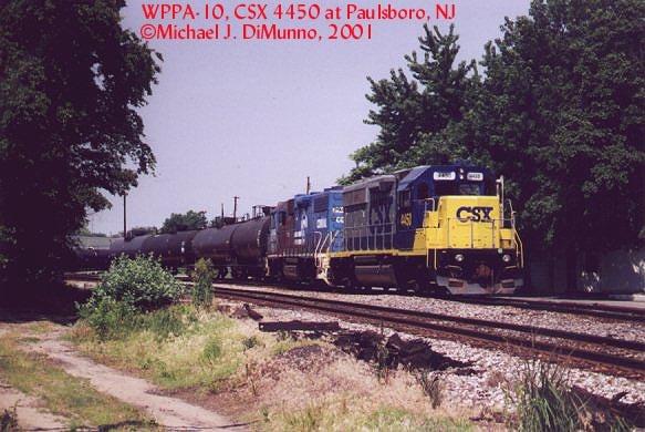 PA-10 at Paulsboro, NJ.