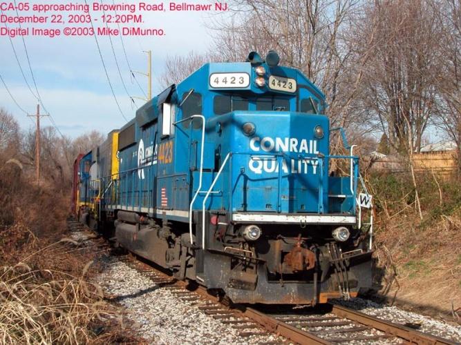 CA-05 at Browning Rd, Bellmawr NJ.