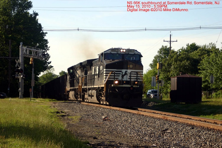 NS 66K southbound at Somerdale Rd, Somerdale, NJ.
