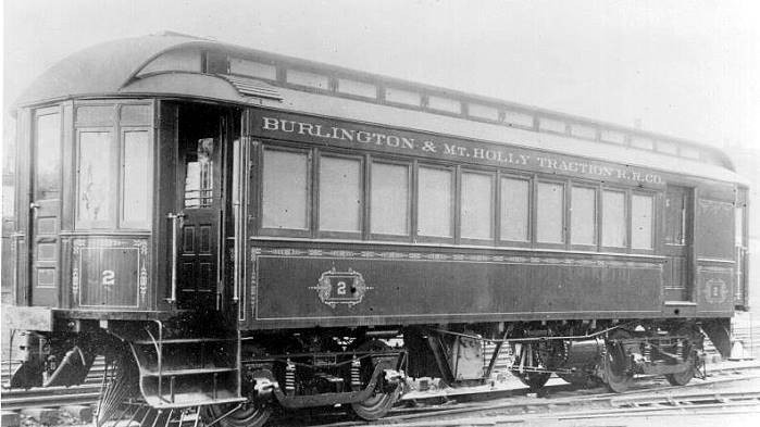 Burlington Amp Mount Holly Railroad And Transportation