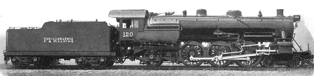 Original P&R Railroad Coal Locomotive