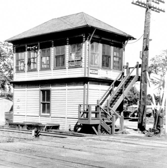 Woodbury Station Tower And Interlocking